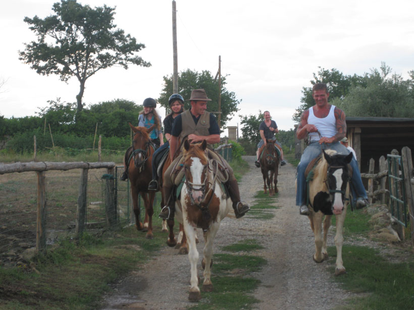 Horseriding School at Tuscany - Sovana
