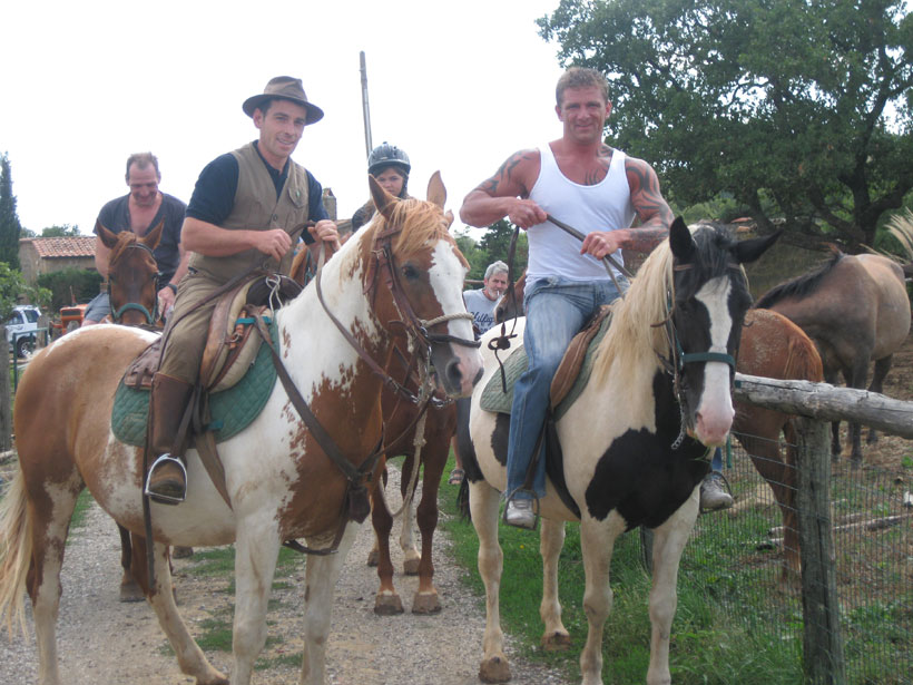 Passeggiate a cavallo alll'agriturismo Il Cavone a Sovana